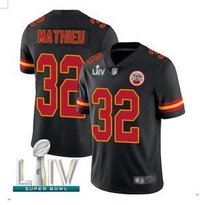 Men's Kansas City Chiefs #32 Tyrann Mathieu Jersey